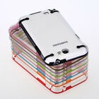 Ultra Thin Gel Clear Back Hard Case Cover Shell For Samsung Galaxy Note 2 N7100