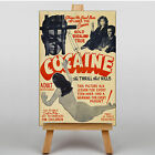 LARGE WALL ART 30x20 Inch - Cocaine The Pace That Kills