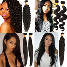 10''-30'' Remy INDIAN Virgin Wave 100% Real Human Hair Extensions Natural Color