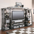 Large 60''L Entertainment Center TV Stand Media Tower She...