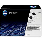 GENUINE HP HEWLETT PACKARD Q7516A / HP 16A BLACK LASER TONER CARTRIDGE