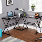 Computer Desk L-Shaped Corner  Workstation Home Office Study Student Table  NEW