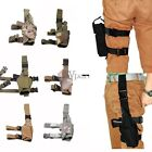 Adjustable Tactical Army Pistol Gun Revolver Drop Leg Thigh Holster Pouch Holder