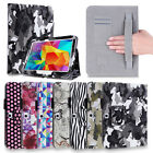 For Tablet Samsung Galaxy Tab 4 10.1 8.0 7.0 Folio Stand Smart Cover Case