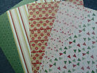 Kanban 'Papers - Christmas Designs' 10x A4 or 12x A4ish - Options