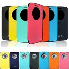 For LG G3 Araso PU leather Anti-shock magnet Lock Flip Quick View Case Cover