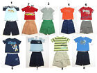 BABY BOYS Toddler SHIRT Shorts 2 PC OUTFIT SET Different Sizes & Brands  NEW 12