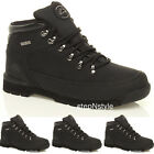 MENS GROUNDWORK SAFETY BOOTS STEEL TOE CAP WORK SHOES LACE UP ANKLE HIGH TRAINER