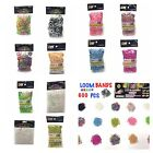 600 LOOM BANDS RAINBOW/ KIDS GLOW IN THE DARK/COLOURCHANGE/DOUBLE/DOTTED COLOURS