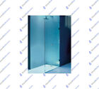 Frameless Shower Screen Fixed Glass Walk In Panel Safety Glass - You Choose Size