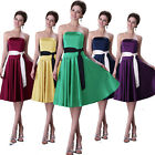 FINAL CLEARANCE Chic Bridesmaid Bridal Cocktail Evening Prom Formal Short Dress