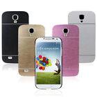 1PCS Brushed Aluminium Metal Hard Cover Case For Samsung Galaxy S4 i9500