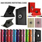 360 Rotating Leather Folio Case Cover Stand for iPad 2 3 4 Mini 4 5 Air 9.7 10.2