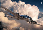 Airplane B-17G Air plane, flight Aviation POSTER, various sizes from A3