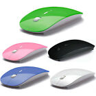 2.4 GHz Slim RF Optical Wireless Mouse Mice + USB Receiver For PC Laptop Macbook