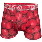 New Mens Apple Fruit Print Boxer Shorts Pants Trunks Underwear Sexy Briefs Size