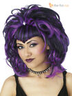 Ladies Evil Gothic Witch Vampire Wig Adult Womens Halloween Fancy Dress Costume