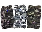 FREE P&P BNWT: Boys Cargo Shorts camouflage/army grey/green age 4 years