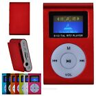 NEW 7Color Mini Small Clip MP3 Music Player LCD Screen Support 8GB TF Card Slot