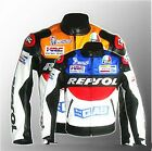 HOT SALE OUTDOOR  REPSOL HONDA MOTORCYCLE JACKET PU LEATHER