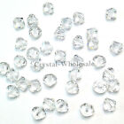 4mm Crystal (001) clear Genuine Swarovski crystal 5328 / 5301 Loose Bicone Beads