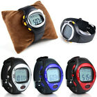 Heart Rate BMP Pulse Monitor Calorie Counter Calendar Alarm Sport Fitness Watch