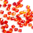 6mm Fireopal (237) Genuine Swarovski crystal 5328 / 5301 Loose Bicone Beads