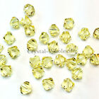 6mm Jonquil (213) Genuine Swarovski crystal 5328 / 5301 Loose Bicone Beads