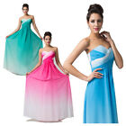 FRE SHIP STOCK Long Cocktail Party Evening Dress Ball Prom Dresses Wedding Gown