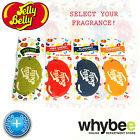 JELLY BELLY 2D HANGING AIR FRESHENER - 4 FLAVOURS LONG LASTING IN CAR FRAGRANCE