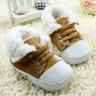 Baby boots boys girls brown Snow winter Soft bottom Shoes Suit for 3-6-9-12Mth