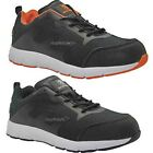 MENS ULTRA LIGHTWEIGHT STEEL TOE CAP SAFETY TRAINER WORK SHOES LACE UP BOOTS
