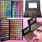 Full Colours Eyeshadow Eye Shadow Palette+Mirror+Brush Make Up Pro Fashion Set