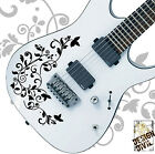 Pro design Vine of Life Vinyl Decal for Electric Guitar Bodies Precision Fit Cut