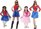 Spiderman Family Couples Boy Girl Ladies Men Costume spidergirl pink superhero