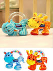 Baby Infant Preferred Soft Animal Hand Rattles Plush Toys Doll Educational new
