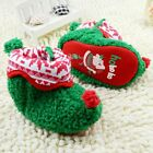 Baby boots boy girl Christmas snow winter Soft bottom Shoes Suit for0-6-12-18Mth