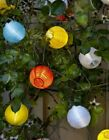 IKEA Solvinden, LED Solar Powered String Light Lanterns Yellow/Red