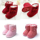 Baby Toddler Fleece Anti-Slip Boots Girl Winter Warm Soft Sole Boots Crib Shoes