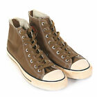 Converse Unisex All Star Back Zip Hi Washed Twill Lace-Up Trainer Timber