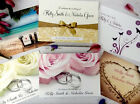 Personalised Wedding Invitations & Evening Invites with Envelopes ★ Double Sided