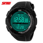 SKMEI New LED Mens Military Sports Digital Watches 50M Waterproof Multifunction