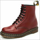 Dr. Martens 1460z Lace up 8 Eyelet boots Cherry with yellow stitch unisex 3 - 11
