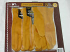 1 or 3 Pairs WELLS LAMONT LEATHER WORK GLOVES WORKING GLOVES Mens L or X L New