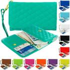 Luxury Flip Wallet Leather Design Case Cover Pouch Holder for Phones