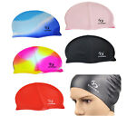 Swim Cap Unisex Silicone Hat One Size Fits All Waterproof Swimming Shower Pool