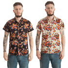 New Mens FLY53 Kibosh Casual Designer Short Sleeve Shirt Top S M L XL XXL