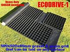 GRAVEL GRID + HD MEMBRANE GROUND SHEET ECO DRIVE GRIDS REINFORCE PERMEABLE sm