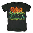 SLIPKNOT - GREEN GROUP - OFFICIAL MENS T SHIRT
