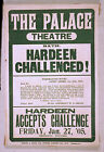 Photo Print Poster Vintage Stage Drama Theatre Palace Theatre Hardeen Challenge